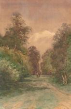 Watercolour Landscape Clear Art Paintings