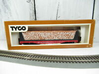 Tyco HO Scale 50' Flat Car with Pulpwood Load, Southern Railway 4365 / E