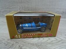 Brumm R41 Bugatti Type 59 1933 #4 Diecast Model Car 1:43 Scale Mint (2)