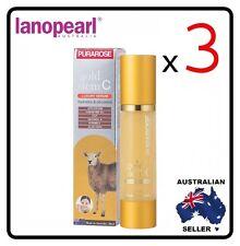 [ lanopearl ] 3 x  PURAROSE gold stem C luxury serum Hydration and Oil control