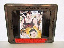 1930s Glass Lantern Slide promo Boxing Max Schmeling Jack DoyleTommy Farr