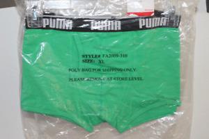 Puma Mens Cotton Stretch Short Boxer Trunk FA2009 Green