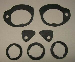 NEW 1962-1965 Chevy Nova or Chevy II Outside Door Handle And Lock Gasket Set