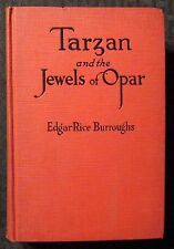 1918 April TARZAN AND THE JEWELS OF OPAR by Edgar Rice Burroughs HC G&D VG 4.0