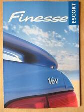 FORD ESCORT FINESSE orig 1998 UK Mkt sales brochure