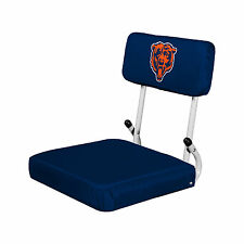 Choose NFL Team Folding Hardback Stadium Bleacher Padded Seat By Logo  Brands Chicago Bears