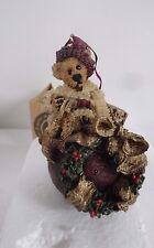 Byods Bears figurine Edmund Deck the Halls # 25700  IOBox Christmas
