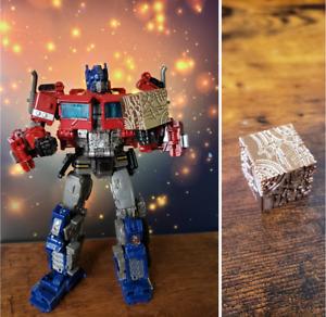 TransformersAllspark Cube Upgrade kit Golden WFC Studio Series TF-Lab