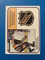 Wayne Gretzky 1981-82 #384 Scoring Leaders O-Pee-Chee Hockey Card Edm Oilers