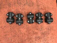 Electronic Drum Rack T mounts Set of 5 Fits Alesis Roland Simmons Racks