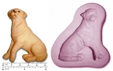 DOG; Labrador Craft Sugarcraft fimo sculpey STAMPO IN SILICONE GOMMA