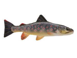Trote Trota di Ruscello 36 CM Pesce Peluche Cuscino Pillow Predatore Trota