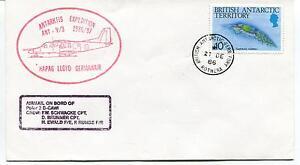 1986 Antarktis Expedition Hapag Lloyd Germanair Rothera Polar Antarctic Cover