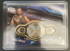 2020 Topps WWE Womens Division Rhea Ripley NXT Championship Belt Card 1/5