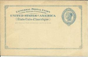 US postalcard Sc#13 unused