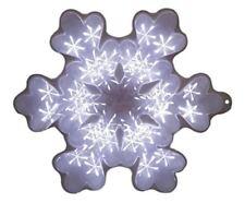 Decorazioni bianchi di fiocco di neve per albero di Natale