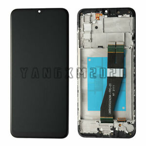 For Samsung Galaxy A02S SM-A025U A025A LCD Screen Touch Digitizer Frame 165mm@US