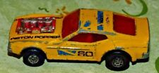 Matchbox Lesney Rola-matics Mustang Piston Popper Mach Ii 1973 used and abused