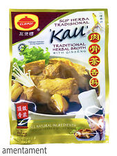 Malaysia Claypot Traditional Herbal Broth With Ginseng Bak Kut Teh 40g