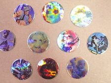 POGS/MILKCAPS STAR WARS GALAXY CAPS FOILS BY TOPPS  SET OF ALL (10)