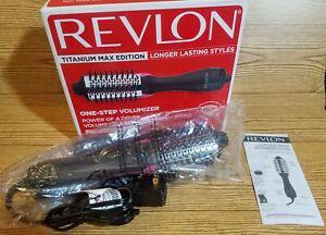 NEW - Revlon RVDR5282CT One-Step Hair Dryer Comb  Volumizer Titanium Max Edition