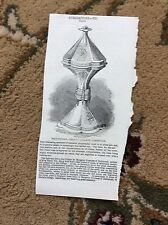 m4-6 ephemera 1849 picture salt cellar christ's college cambridge