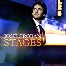 JOSH GROBAN - STAGES: DELUXE EDITION CD ALBUM - 2 BONUS TRACKS(April 27th 2015)