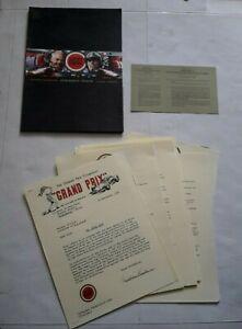 LUCKY STRIKE (BAR) F1 GRAND PRIX FILM James Garner / Villeneuve PRESS PACK 1999