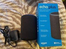 Amazon Echo Plus 2nd Gen: Built-in smart home hub with premium sound