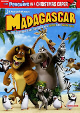 DVD ~ Madagascar - Includes the Penguins In a Christmas Caper -  Bilingual - New