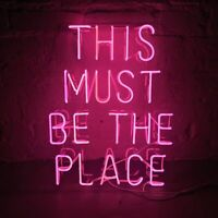 """This Must Be The Place Neon Sign Light Acrylic 20""""x16"""" Bedroom Bar With Dimmer"""