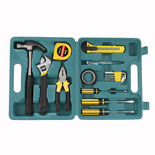 15Pcs/Set Kinds Tool Kit Box Hand For Home housing Repair DIY Toolbox Case Set