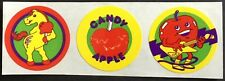 Vintage CTP Scratch & Sniff Stickers - Candy Apple - Glossy & Awesome!!