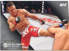 2015 TOPPS UFC KNOCKOUT SILVER PARALLEL  #/199 VITOR BELFORT #92