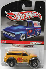 Hot Wheels Slick Rides Delivery Hooker Headers POWER PANEL Yellow w/RRs