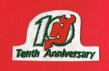NEW JERSEY DEVILS 10th ANNIVERSARY NHL JERSEY PATCH