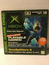 Official Xbox Demo Disc September 2002 Disc 10  Disc+Sleeve