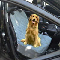 Car Front Single Seat Non-slip Pet Dog Seat Cover Protector Pad Basket Foldable