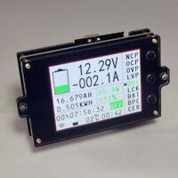 Battery Monitor Meter Wireless DC 120V 100A VOLT AMP AH SOC Remaining Capacity