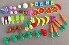 Lego FRIENDS lot food dessert beverage fruit vegetables ice cream accessories