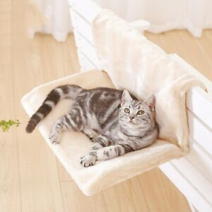 Removable Plush Washable Hammock Cosy Carrier Radiator Sofa Cat Hanging Bed