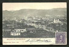 Valencia Estado Carabobo Venezuela stamp ca 1899