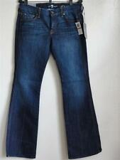 """SEVEN FOR ALL MANKIND """"A"""" POCKET FLARE JEANS, Blue, Size 29Sh, MSRP $178"""