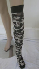 LADIES CAMOUFLAGE CAMO OVER KNEE SOCKS ARMY SOLDIER  HEN STAG NIGHT
