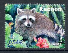 STAMP / TIMBRE FRANCE  N° 4034 ** FAUNE / RACOON