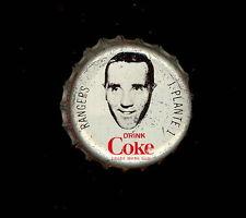 1964 65 COCA-COLA COKE BOTTLE CAP WITH CORK JACQUES PLANTE N Y RANGERS HOCKEY