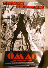 OMAC One Man Army Corps Promo poster, John Byrne, DC Comics
