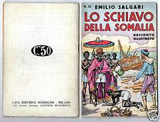 emilio salgari racconto illustrato n.32 s. talman avventure 1° edition 1935 rare