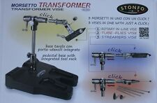 Stonfo Transformer Fly Tying Vice 3 vices in 1 FREE Advanced Kit + UK POSTAGE