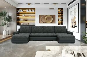 Eckcouch Tokio 3 U-Form  Schlafsofa Sofa Schlafcouch Ecksofa Lawa17/Soft11